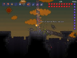 Terraria Guide-The Eater of Worlds