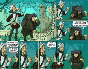 Oglaf Fountain of Doubt