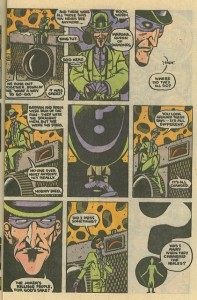 The Riddler was once awesome